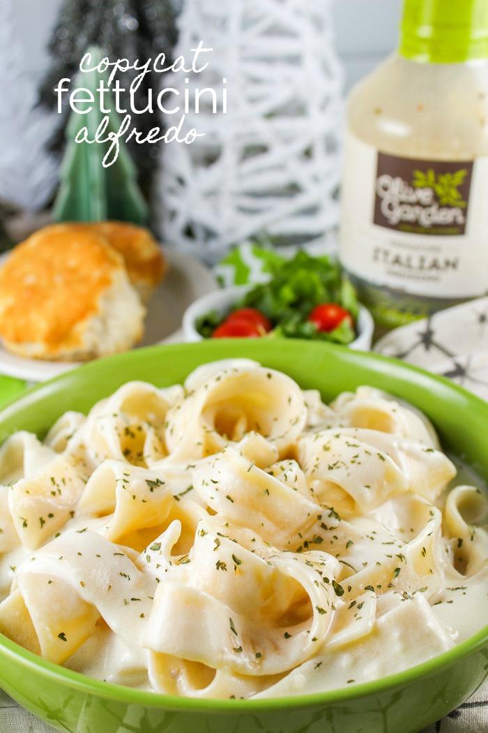 Copycat Olive Garden Fettuccini Alfredo The Food Hussy
