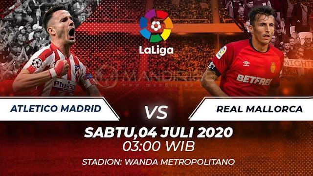 Prediksi Atletico Madrid Vs Mallorca, Sabtu 04 Juli 2020 Pukul 03.00 WIB