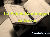 7 Isi Pokok Kandungan Al-Quran