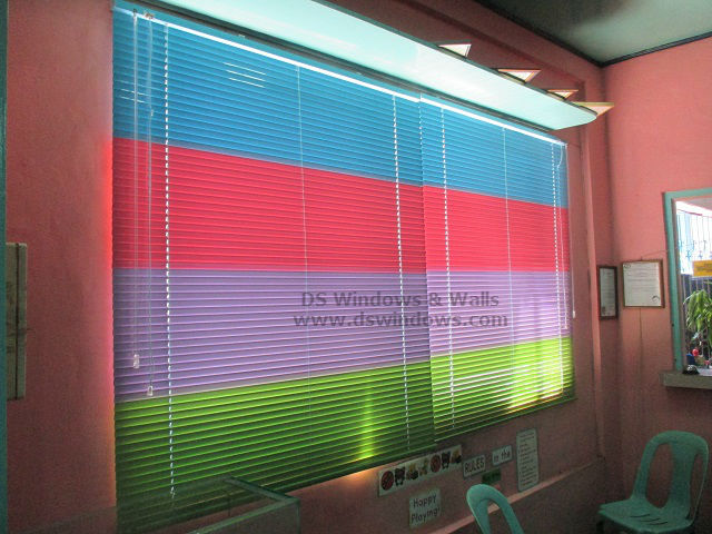 Playing with Colors Using Aluminum Mini Venetian Blinds - Pio Del Pilar, Makati City
