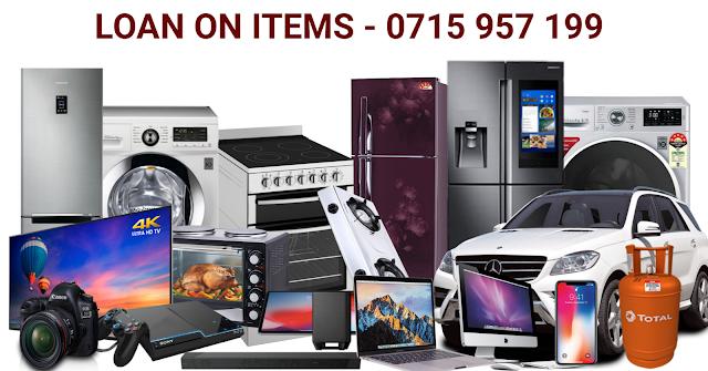 Loan on items