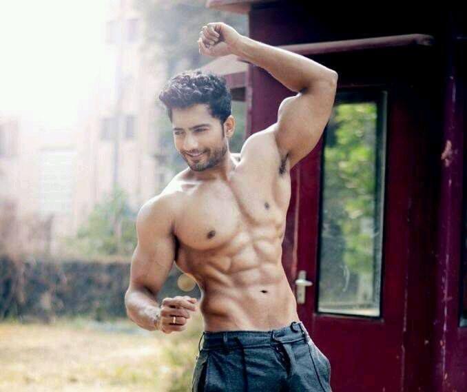 Hot indian men body