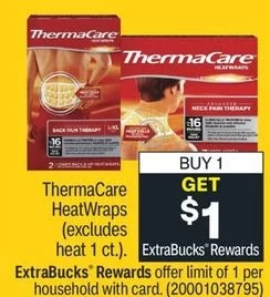 thermacare cvs deal