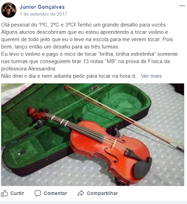 Desafio do Violino