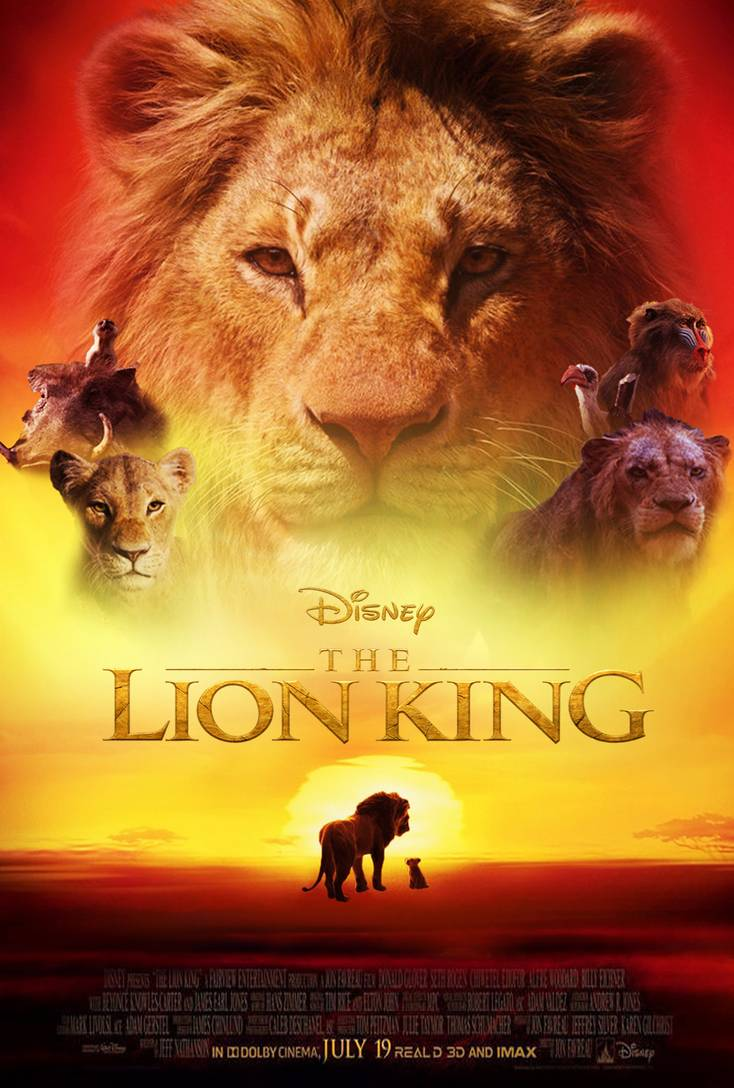 Eds Filmic Forays Film Review The Lion King Pg