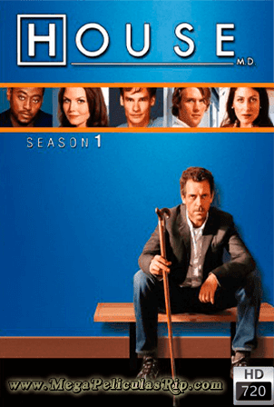 Dr. House Temporada 1 [720p] [Latino-Ingles] [MEGA]