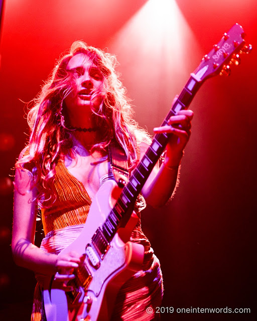 Speedy Ortiz at Rebel on July 7, 2019 Photo by John Ordean at One In Ten Words oneintenwords.com toronto indie alternative live music blog concert photography pictures photos nikon d750 camera yyz photographer