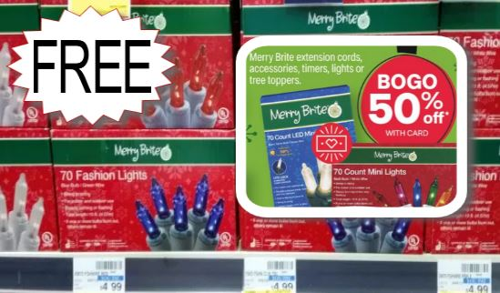 free christmas lights at cvs