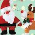 Moldes fieltro adornos de Navidad