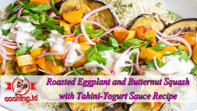 Roasted Eggplant and Butternut Squash