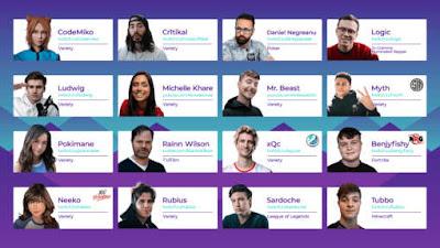 Le tournoi d'échecs PogChamps avec des stars de la plateforme de streaming Twitch