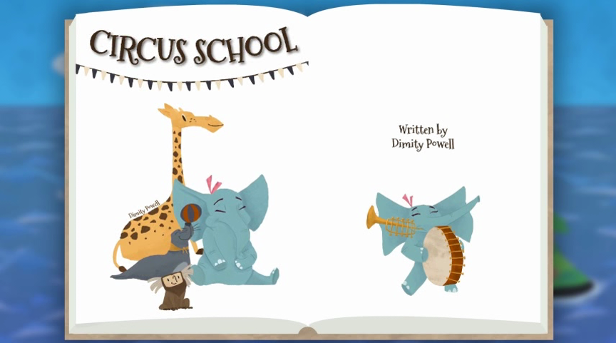 Get Appy: Circus School Digital Picture Book