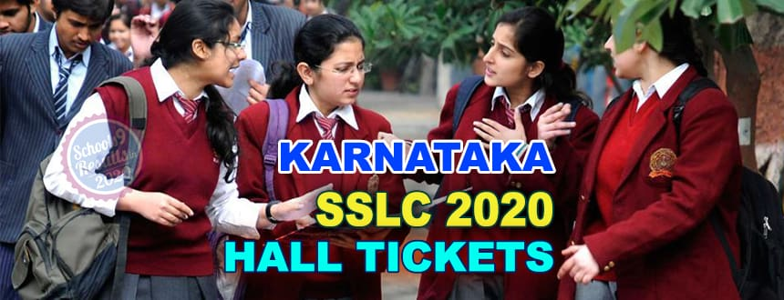 'Karnataka_SSLC_Hall_Tickets_2020'
