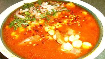 receta menudo rojo mexicano