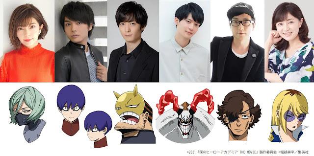 Boku no Hero Academia Revela novos personagens para seu Próximo filme