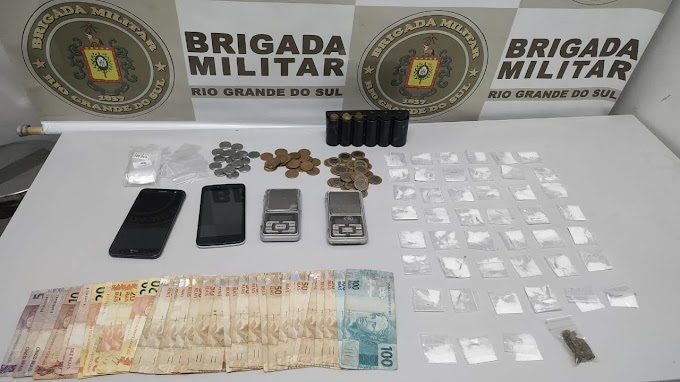 Dois homens são presos por tráfico de drogas no bairro Monte Belo em Gravataí