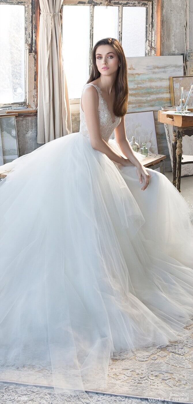 Tara Keely Spring 2018 Wedding Dresses - World of Bridal