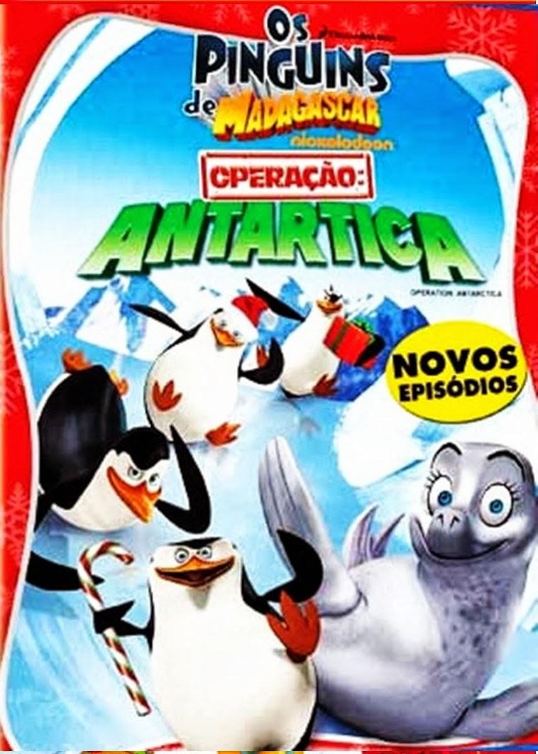 Os Pinguins de Madagascar: Operação Antartica – Dublado (2012)