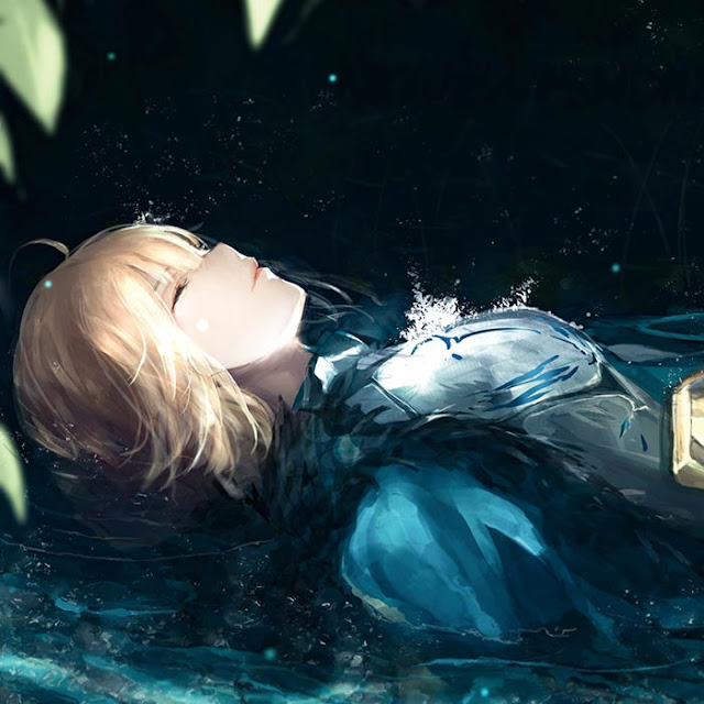 Saber Anime Wallpaper Engine