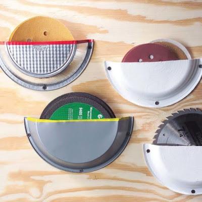 Organizador para Discos, Lixas e serras