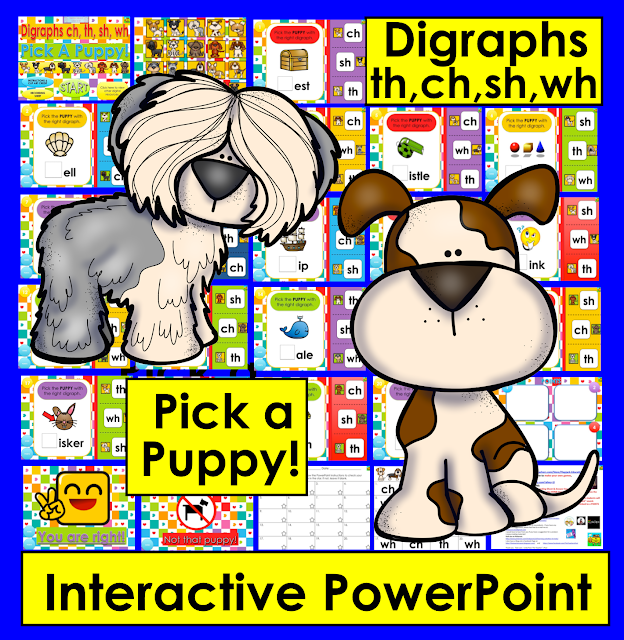 https://www.teacherspayteachers.com/Product/Interactive-PowerPoint-Game-for-Consonant-Digraphs-ch-th-wh-sh-3000964