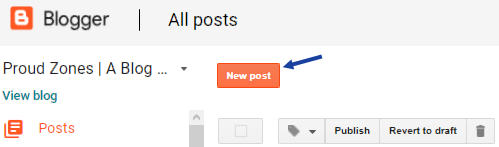 Add Link Button to your Blogger