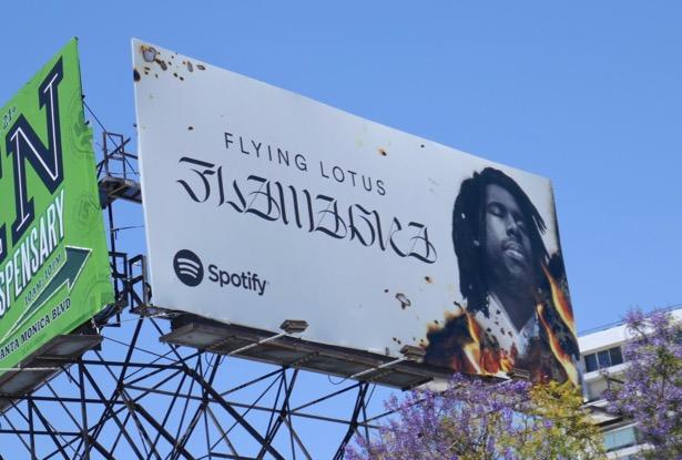 Flying Lotus Flamagra Spotify billboard