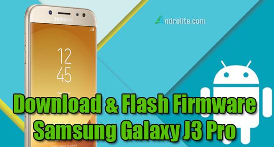 Download dan Cara Flashing Stock ROM / Firmware Samsung Galaxy J3 Pro