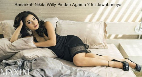 Nikita Willy Pindah Agama