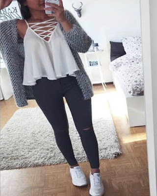 Outfit casual tumblr juvenil