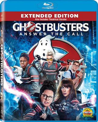 Ghostbusters 2016 Extended Dual Audio BRRip 480p 400Mb x264