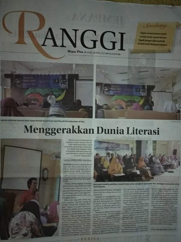 Terima Kasih Riau Pos dan Tribun Pekanbaru Telah Dukung GGMB