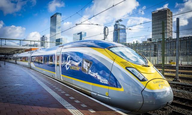 توقيت انطلاق القطار المباشر بين أمستردام و لندن