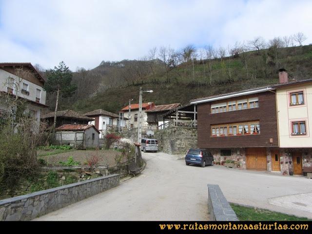 Ruta Belerda-Visu La Grande: Inicio de la ruta en Belerda