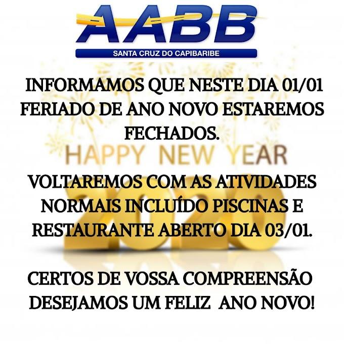 A AABB Santa Cruz do Capibaribe informa