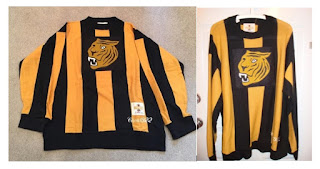 NHL CCM Heritage Jersey Collection - Hamilton Tigers Circa 1922