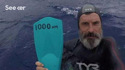 Atlas Okyanusunu yüzerek geçen ilk kişi kimdir?