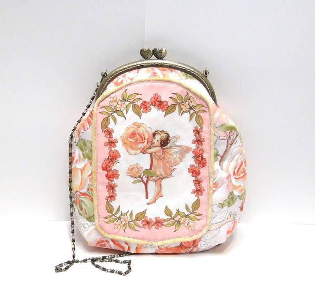 Летняя сумка Фея роз - сумочка для девушки ручной работы