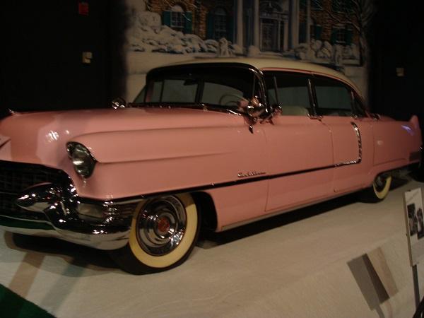 Pinker Cadillac von Elvis Presley, aufgenommen in Memphis, Tennessee