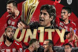 Bali Uniuted Menjadi Juara di Liga 1 indonesia 2019