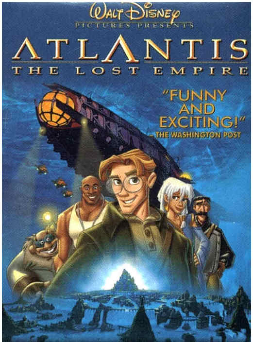 Laura's Miscellaneous Musings: Tonight's Movie: Atlantis