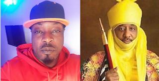 Singer, Eedris Abdulkareem mocks Sanusi after his dethronement