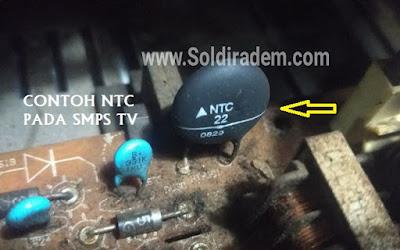 Perbedaan Thermistor PTC dan NTC Beserta Tanda Kerusakannya