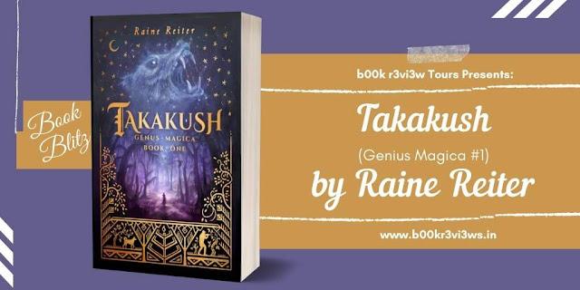 Book Blitz: Takakush by Raine Reiter