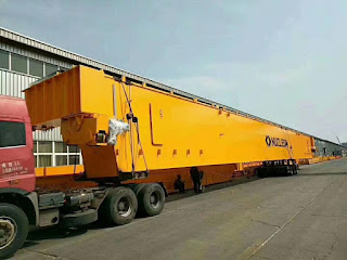 200 tons double Girder Overhead crane Delivery To Customer