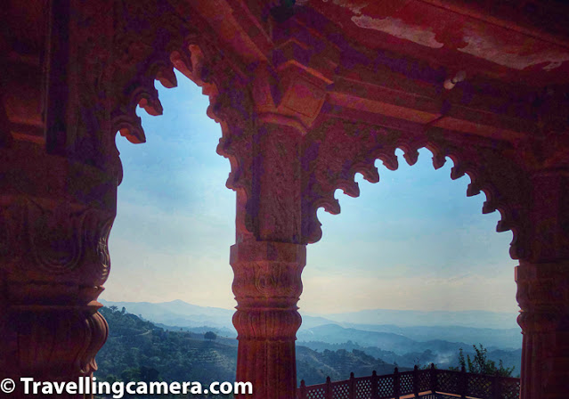 We were there to explore this part of Himachal Pradesh and one part which I liked the most is the panoramic view of valley around Jahu/Baldwara of Mandi region in Himachal Pradesh. And beautiful blue sky made the environment even more interesting from top of the temple in Dhaboi.