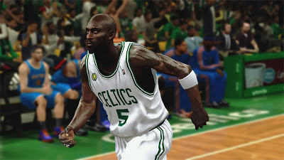 NBA 2K13 Kevin Garnett Face & Beard Update