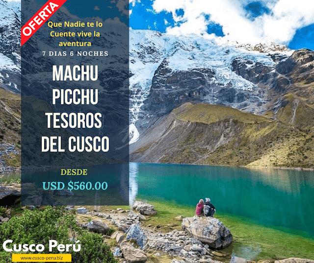 Paquete Turistico a Machu Picchu y montaña 7 Colores