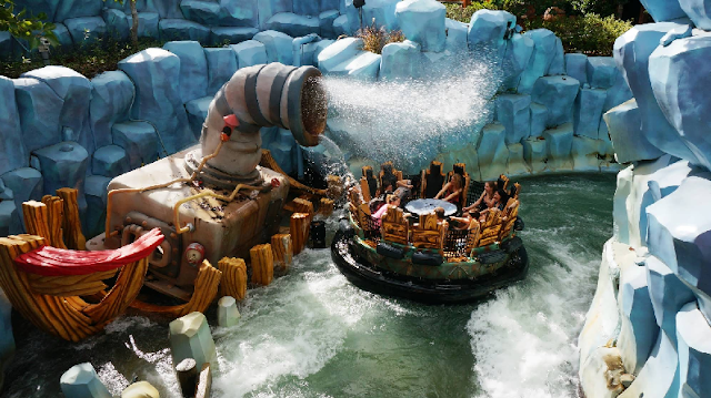 Toon Lagoon no Islands of Adventure em Orlando