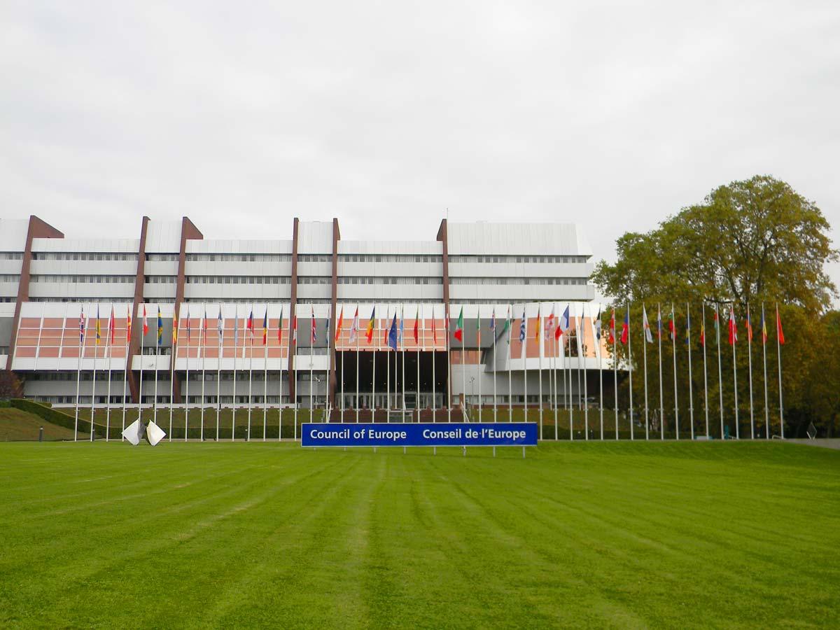 Conseil de l'Europe, Strasbourg en automne